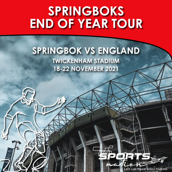 End of Year Tour - Twickenham SA v England