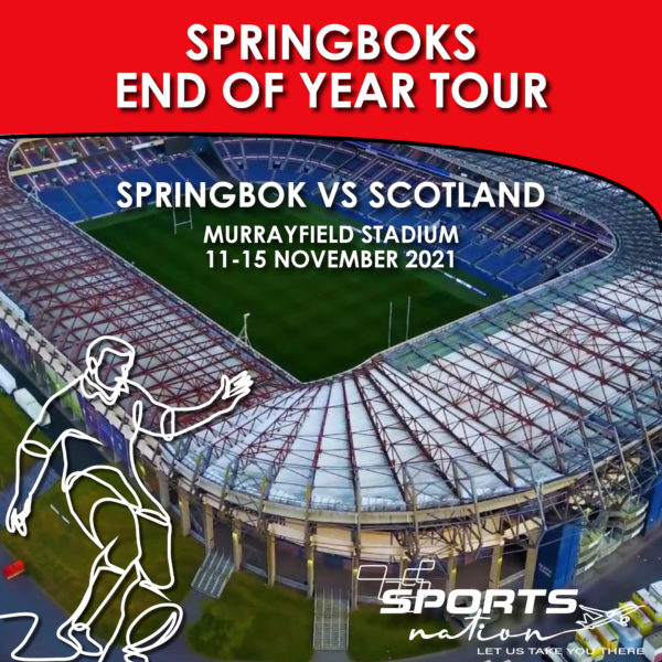 End of Year Tour - Rugby SA v Edinburgh